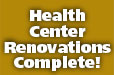 Health Center Renovations Complete!
