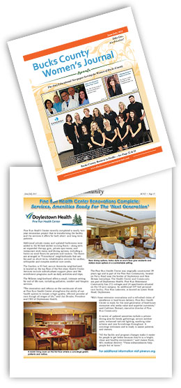 Bucks County Women's Journal: Pine Run Health Center Renovations Complete; Services, Amenities Ready For The 'Next Generation'