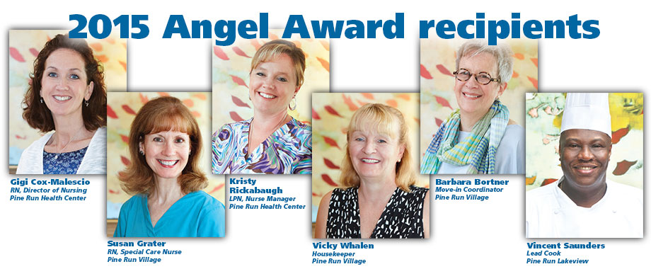 2015 Angel Award recipients