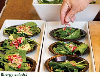 Energy salads!
