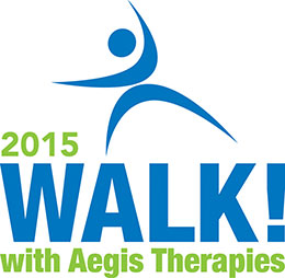 2015 Walk! with Aegis Therapies