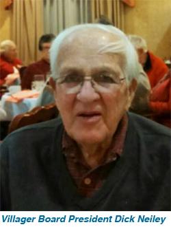 Villager Board President Dick Neiley