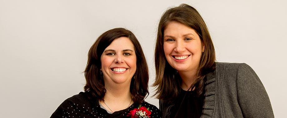 Julie Kozak and Michelle Haughney
