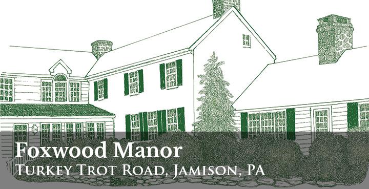 Foxwood Manor 2016 Bucks County Designer House