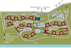 Pine Run Community Site Map