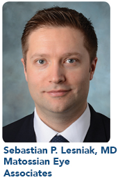 Sebastian P. Lesniak, MD Matossian Eye Associates