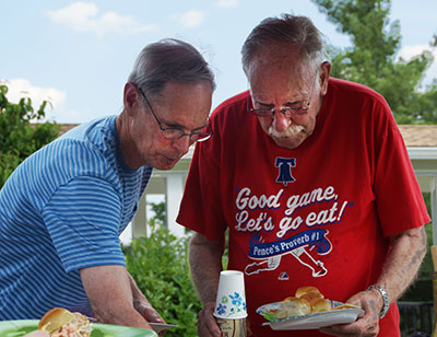 Bill Newman and Bob Jack