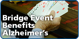 Bridge Event Benefits Alzheimer's