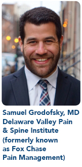 Samuel Grodofsky, MD, Delaware Valley Pain & Spine Institute (formerly known as Fox Chase Pain Management)