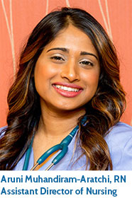 Aruni Muhandiram-Aratchi, RN, Pine Run Assistant Director of Nursing