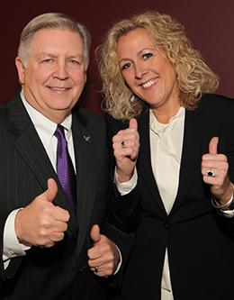 Jim Brexler and Cathleen Stewart