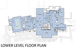 Community Center Lower Level Plan
