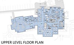 Community Center Upper Level Plan