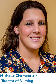 Michelle Chamberlain, Director of Nursing