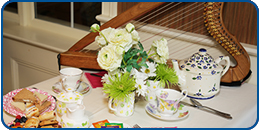 Home Life Committee Hosts VIA Tea