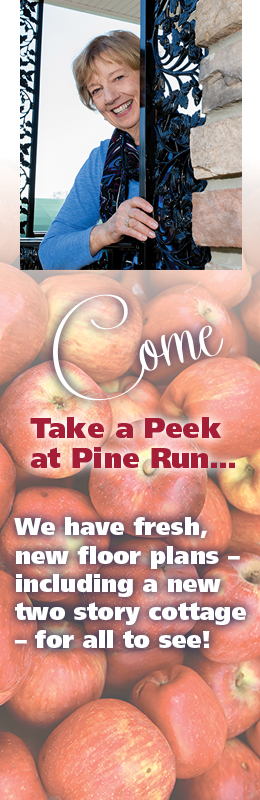 Come Take a Peek at Pine Run