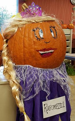 Rapunzel Pumpkin