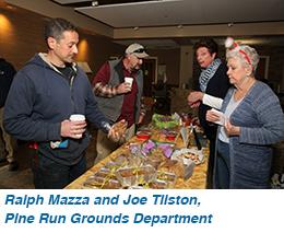 Ralph Mazza and Joe Tilston, Pine Run Grounds Department