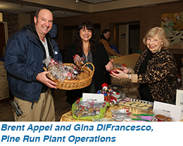 Brent Appel and Gina DiFrancesco, Pine Run Plant Operations