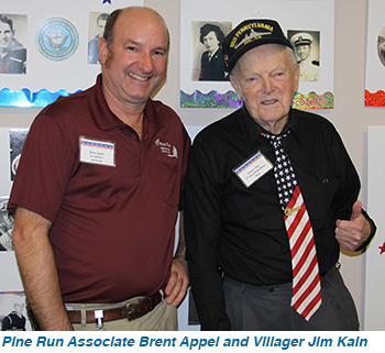 Pine Run Associate Brent Appel and Villager Jim Kain