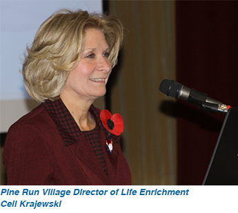 Pine Run Village Director of Life Enrichment Ceil Krajewski