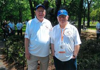 Honor Tour Trip – Bill Kurz and Ernie Cohen, MD