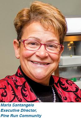 Maria Santangelo, Executive Director, Pine Run Community
