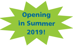 Opening in Summer 2019!