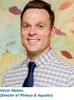 Kevin Mallon, Director of Fitness Aquatics