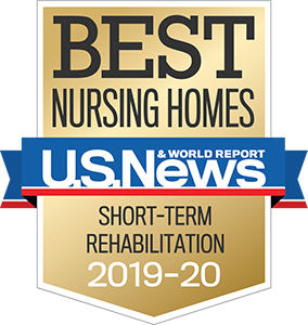 Voted Best Nursing Homes by US News & World Report