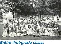 Entire first-grade class